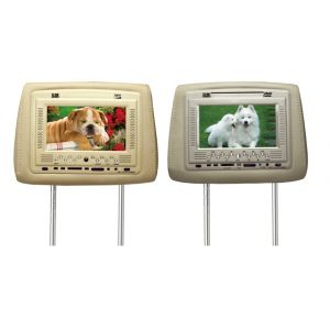 HR-71 DTF COMBO - HEADREST DVD + MONITOR